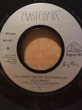 """JIVE BUNNY & THE MASTERMIXERS - LET'S PARTY / AULD LANG SYNE - JUKEBOX 7"""" MFD003"""