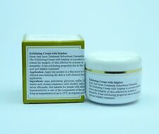 Exfoliating Cream with Sulphur Acne Seborrhoea Dermatitis