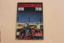 P991 Catalogue Train FLEISCHMANN Ho N 1979 1980 88 pages