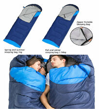 Outdoor Camping Sleeping Bag Warm Weather, Backpacking Hiking Lightweigh Compact