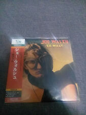 Joe Walsh So What JAPAN MINI LP SHM CD SEALED