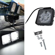 27W 12V 24V 9LED Square Work SpotLight Lamp Tractor Truck SUV UTV ATV Off-road W