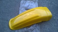 Suzuki RM100 RM125 RM250 RM400 Plastic Rear Fender Yellow NEW Reproduction