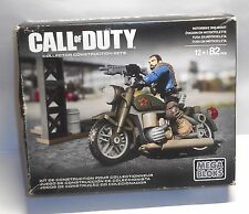 Call of Duty Mega Bloks - #DCL03 MOTORBIKE BREAKOUT - with Box & Instructions