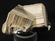 A Small 100% Natural PYRITE Crystal CUBE CLUSTER Huanzala Mine Peru 103gr