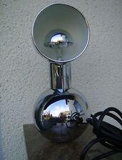 """60r/70r space age vintage Moon Lamp - """"debout lampe"""" - Chrome kugelfuß Lampe"""