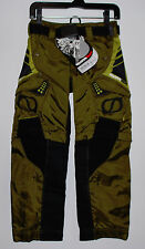 New MSR Strike Force MX Pant Youth 20 Olive Green Black 07 Style ATV Dirtbike