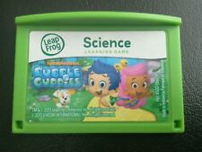 LeapPad 2 3 ULTRA XDi Leapster Explorer GS Platino Juego De Bubble Guppies