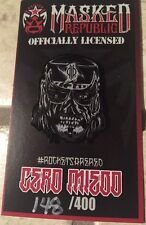 Masked Republic Officially Licensed LTD Pentagon Jr. Cero Miedo Lapel Pin, Lucha