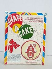 Shape A Cake Metal Ginger Bread House Giant Cookie Cutter 7 x 9 USA NOS Fox Run