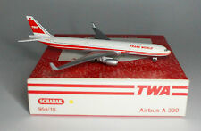 Schabak Airbus A330-302 TWA Trans World Airlines in 1:600 scale