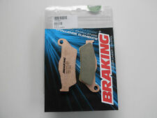 BRAKING PASTIGLIE FRENO ANT SINTER KTM 640 LC4 SUPERMOTO 2002