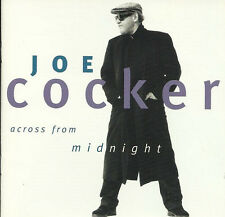 Joe Cocker ‎CD Across From Midnight - Europe (EX+/EX+)
