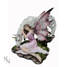 NEMESIS NOW LARGE FAIRY & UNICORN  ORNAMENT/FIGURINE *CALMINA*  NEW BOXED