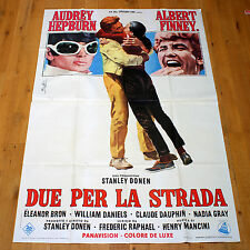 DUE PER LA STRADA manifesto poster affiche Audrey Hepburn Two for the Road