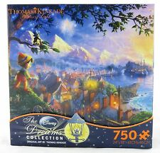 Pinocchio Wishes Upon A Star Disney Dreams 750 Pc Jigsaw Puzzle Thomas Kinkade