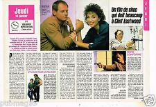 Coupure de presse Clipping 1988 (2 pages) Rick Hunter Fred Dryer