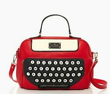 Brand New: Kate Spade All Typed Up Clyde in Red