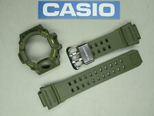 Genuine Casio G-Shock Rangeman GW-9400 GW-9400-3 watch band and bezel set green