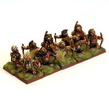 thebattleforge 28mm Halfling Militia Bowmen x10 Troopers - Archers Detachment