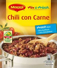 5 x MAGGI FIX and Fresh for Chili con Carne  NEW from Germany