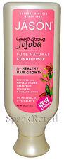 Jason Organic Long & Strong JOJOBA Pure Natural CONDITIONER For Hair Growth 454g