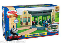TIDMOUTH SHEDS ROUNDHOUSE Thomas Tank Engine Wooden Railway NEW IN BOX