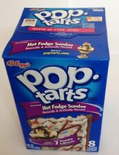 Kelloggs Pop tarts Hot Fudge Sundae Frosted 8 toaster pastries 400g