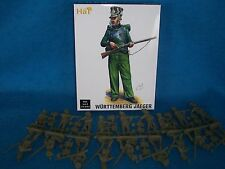54MM WURTTEMBERG JAEGER NAPOLEONIC WAR INFANTRY Toy Soldiers, Made by HAT