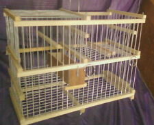 Trap Cage for Birds / With Repeating Action