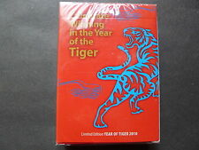TIGER PLAYING CARDS - YEAR OF TIGER 2010 -LIMITED EDITION (NEW)