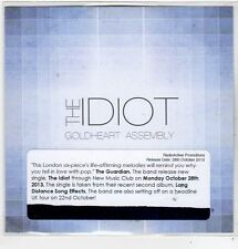 (FJ866) Goldheart Assembly, The Idiot - 2013 DJ CD