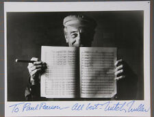 Mitch Miller Autograph photo hand signed inscribed 8 x 10 Black and White no res