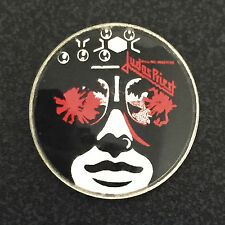 JUDAS PRIEST KILLING MACHINE VINTAGE METAL PIN BADGE MADE IN ENGLAND 1970s