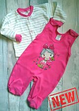 **NEW** Baby Girls **2 Piece* Outfit *Set Size: 3-6 Months **100% COTTON**