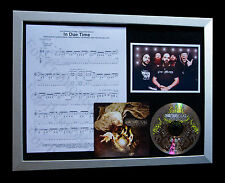 KILLSWITCH ENGAGE Due Time TOP QUALITY MUSIC CD FRAMED DISPLAY+FAST GLOBAL SHIP