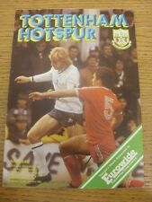 27/10/1980 Tottenham Hotspur v Arsenal [Football League Cup] (Crease, Fold). Any