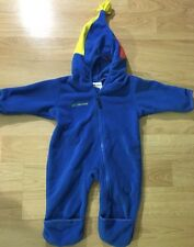 Columbia Coat Baby Toddler Bunting Snow Suit Blue Red Yellow Size 12 Months