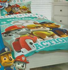 PAW PATROL RESCUE DOG DOUBLE /US FULL bed QUILT DOONA DUVET COVER SET NEW