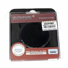 Zomei 58mm 850nm Infrared IR Filter Infra Red X Ray For Canon Nikon Sony DSLR
