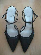 Christian Dior elegant grey stiletto heels, size EU 38.5 / UK 5.5
