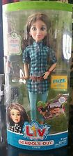 "LIV Schools Out KATIE 12"" Articulated Vinyl Doll 2010 Spin Master Ltd. 5+"