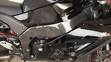 KAWASAKI ZX-10R 2011-2015 Carbon Fiber Frame Covers Panels Protectors Guards