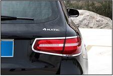 Heckleuchte Rahmen ABS Chrom Abdeckung für Mercedes GLC