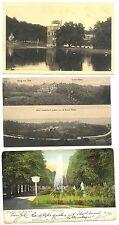 NEDERLAND 1905/1936 3 x AK  - ARNHEM EN OM. - NAAR NED INDIE   F/VF