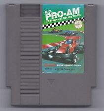 Vintage Nintendo RC Pro Am Video Game NES Cartriage VHTF Racing