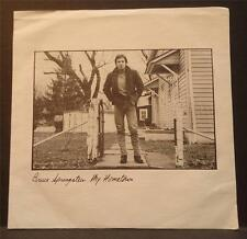 "7"" 45rpm BRUCE SPRINGSTEEN ""my hometown/santa claus is comin' to town"" Columbia"