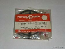 NOS Ducati 350 Piston RING SET 1st oversize 0606-47-590 bevel single BORGO