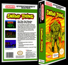 Swamp Thing - NES Reproduction Art Case/Box No Game.