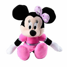 Childrens Girls Minnie Mouse Boutique In Pink Dress Soft Plush Toy For Ages 3+